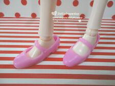 Doll Shoes - Mattel Big Feet Barbie/LIV Doll Pink Mary Jane shoes 1pair #S2120