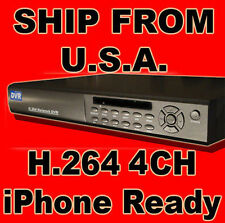 4Channel CH Standalone DVR H.264 iphone CCTV Security