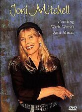 Joni Mitchell - Painting with Words and Music (DVD, 1999) NEW