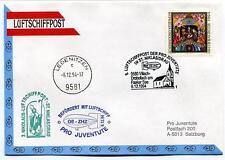 1994 Luftschiffpost n. 8 Pro Juventute Dirigibile OE-ZHZ Ledenitzen St. Niklas