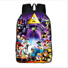 Gravity Falls Student School Backpack Mabel Laptop Shoulder Bag Kids Bookbag