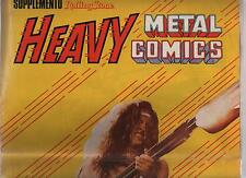 HEAVY METAL COMICS - AXE McCORD ! inserto supplemento a ROLLING STONE n.1 1981