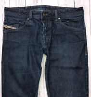 Mens DIESEL Belther Jeans W33 L30 Blue Regular Slim Tapered Wash 0088Z