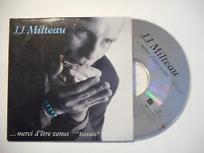 JEAN JACQUES MILTEAU : MERCI D'ETRE VENUS ♦ CD SINGLE PORT GRATUIT ♦