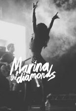 "022 Marina and the Diamonds - Singer Lambrini Diamandis UK 14""x20"" Poster"