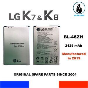ORIGINAL BATTERY BL-46ZH LG K7 & K8 3G 4G SERIES 2125mAh BATTERIE ORIGINE OEM