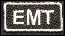 EMT Iron-On Patch/Badge EMERGENCY MEDICAL TECHNICIAN for T-Shirt Hat Uniform 25P