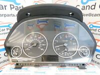 BMW 3 4 Series Instrument Cluster Speedo Fuel Gauge Diesel Rev 9287481 21/10