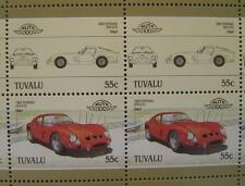 1962 FERRARI 250 GTO Car 50-Stamp Sheet / Auto 100 Leaders of the World