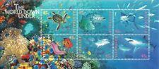 Australia (Scott 1465A-F) - 1995 The World Down Und - Miniature Sheet (2) - Mnh