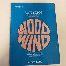 flute FLUTE SOLOS Vol 3, Trevor Wye