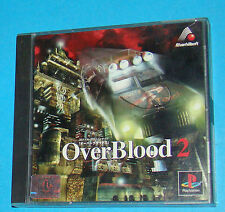 Overblood 2 - Sony Playstation - PS1 PSX - JAP