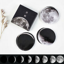 45 Sheet Moon Phase Paper Diary Journal Envelope Scrapbook Gift Bag Stickers DIY
