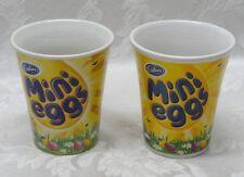 "Rare Cadbury Coffee Tea Mug Mini Eggs 4"" UK 2012 Germany Pastel Retro Handle HTF"