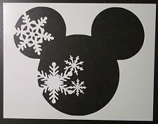 "Mickey Mouse Spring Summer Fall Winter 11"" x 8.5"" Stencil FAST FREE SHIPPING"