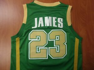 Vintage LeBron James St Vincent St Mary High School Stitched Jersey S ~NEW~