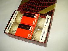 RARE VINTAGE TITLEST ACUSHNET SIX PACK GOLF BALLS IN ORIGINAL RARE GATOR  BOX