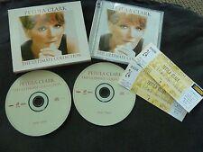 PETULA CLARK ULTIMATE COLLECTION RARE AUSTRALIAN DOUBLE CD + 2 TICKET STUBS!