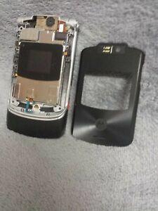 Motorola RAZR V3XX Handy Gehäuse schwarz #7 BC mobile phone case housing black