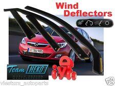 OPEL ASTRA J IV  2009 - 2014 4/5D  SALOON / HB Wind deflectors 4.pcs HEKO  25384
