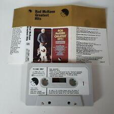 ROD McKUEN GREATEST HITS CASSETTE TAPE 1973 WHITE PAPER LABEL EMI UK