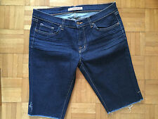 J BRAND Cut Off Denim Jeans Bermuda Shorts 31 925 INK Skinny
