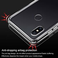 IMAK For Xiaomi Mi Mix 3, Airbag Shockproof Soft TPU Cover Case+Screen Protector