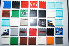 Lego 35 1X4X3 PANELS / BRICKS / WINDOWS - HOUSE / CASTLE # 87543 (jc) GENUINE