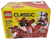 Lego Classic Red Creativity Box Building Toy 55 Pieces Ages 4-99