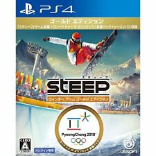 Ubisoft Steep Winter Games Edition  SONY PS4 PLAYSTATION 4 JAPANESE Version