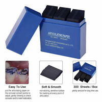 1 Box Dental Articulating Paper Dental Lab Products Teeth Care Strips Kit Blue