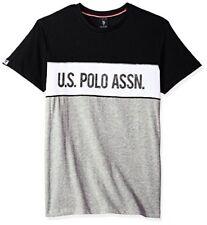 U.S. Polo Assn. Mens Short Sleeve Crew Neck Solid T-Shirt- Pick SZ/Color.
