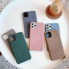 Suede Smooth Warm Phone Case For iPhone 11 Pro Max XS X XR 7 8 Plus Back Cover