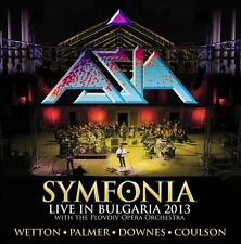 ASIA - Symfonia Live in Bulgaria 2CD + DVD