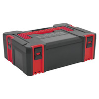 AP8150 Sealey ABS Stackable Click Together Toolbox - Medium [Tool Storage]