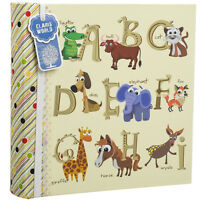 """Baby Alphabet/Number Photo Album Holds 200 Photos 4'' x 6""""-Ideal Gift CL-6822"""
