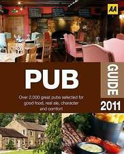 Pub Guide 2011 (AA Lifestyle Guides), AA Publishing, New Book
