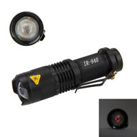 5W 940nm LED Tactical Infrared Radiation notte visioneLight IR Flashlight torcia