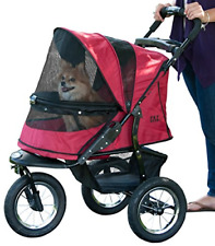 Pet Gear No-Zip Jogger Pet Stroller for Cats/Dogs, Zipperless Entry, Easy Fold,