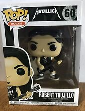 Metallica Robert Trujillo 60 Bass Player Pop Rocks Funko Vinyl Figure Brand New