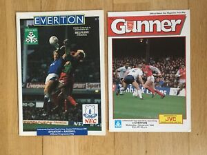 Everton v Arsenal League Cup semi-final 1988 both legs. Superb