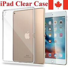 Clear iPad Case Transparent Protective Cover For Apple iPad Mini Pro Air Gen