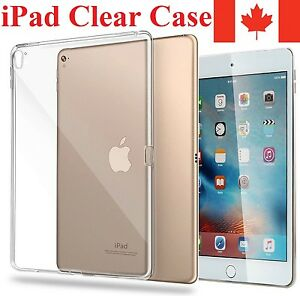 Premium Clear Case Cover For Apple iPad ALL MODELS AVAILABLE