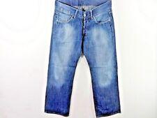 G-Star da Uomo S.C. Low Jeans Loose Blu Taglia W33 L32 Grado B SKU M451