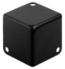 1 Stück Monacor MZF-8502/SW Metall-Kofferecken schwarz