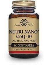 Solgar, Nutri-Nano Co-Q10 ALA Softgels, 60