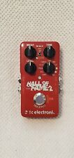 TC Electronic Hall of Fame Reverb Guitar Effect Pedal - used in Good condition