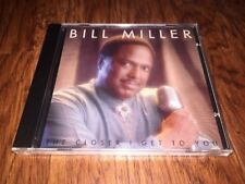 New Bill Miller - The Closer I Get To You Faze-2 Records CD Funk Soul R&B Swing