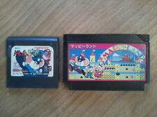 Lot MAPPY / MAPPY LAND - Game Gear / Famicom NES - Sega / Nintendo