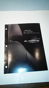 2011 Chrysler Paint, Fabric and Wheel Guide - #2
